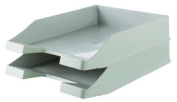 Han Karma C4 Size Stackable Letter Tray - Grey
