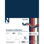 Neenah Textures Cardstock 22cm x 28cm 40/Pkg