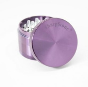 Sharp Stone Official Authentic Large 4 Piece Grinder Hard Top 6.4cm Purple + Free Performance Technology Wrist Band