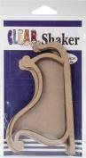 Clear Scraps Chipboard & Acrylic Shaker Shape 8.9cm x 11cm