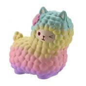 Gbell Jumbo Sheep Squishy Cute Alpaca Galaxy Super Slow Rising Scented Fun Animal Toys
