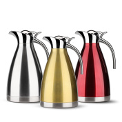 2010ml Insulated Coffee Carafe - Stainless Steel Thermal Carafe Coffee / 12-cup Thermal Pitcher / 15 Hour Heat Retention
