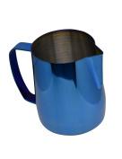 Latte Art | Stainless Steel Milk Frothing Pitcher Cobalt Blue 590ml Titanium Mirror Finish