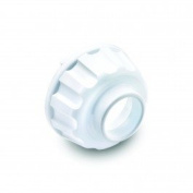 Omega Juicer End Cap Replacement Part for Drum Unit #1 or #2 WHITE Colour 8004 8003 8005 8006