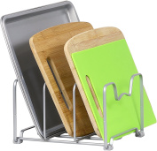 SimpleHouseware Kitchen Houseware Organiser Pantry Rack, Silver