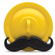 Mario Moustache Wire Pot Lid, Cookbook, Tablet or Picture Holder, Novelty Organiser, by Monkey Business