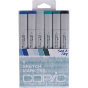 Copic Sketch Markers 6/Pkg