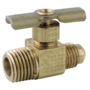 ANDERSON METALS 709104-0404 Needle Valve,Low Lead Brass,150 psi