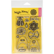 Waffle Flower Crafts Clear Stamps 10cm x 15cm
