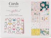 Crate Paper A2 Cards W/Envelopes (11cm x 15cm ) 40/Box