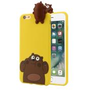 iPhone 6/6S Plus Case,Bescita Squishy 3D Cute Ice Cream Soft Silicone Case Cover For IPhone 6/6S