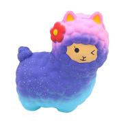 Squishies, ADESHOP Cute Slow Rising Squishy Toy Squishy Jumbo Sheep Kawaii Squishy Toys for Boys and girls