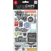 Chipboard Value Pack-Chalk-Coloured Amazing