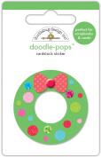 Doodlebug Doodle-Pops 3D Stickers