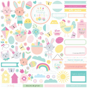 Easter Blessing Stickers 30cm x 30cm