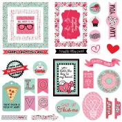 Love Notes Ephemera Cardstock Die-Cuts