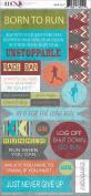 Marathon Cardstock Stickers