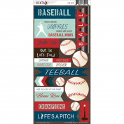 Play Ball Cardstock Stickers