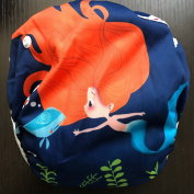 Reuseable Washable Adjustable Swim Nappies, Baby Girl Nappy for Swim Lesson