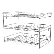 3 Tier Can Dispenser - Stackable Can Organiser Rack for Kitchen Pantry, Countertop, and Cabinets by Classic Cuisine (Holds Up To 36 Cans)