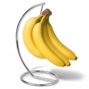 Homeries Banana Holder, Satin Nickel Modern finish and Rust resistant Banana Tree