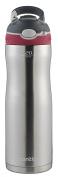 Contigo AUTOSPOUT Straw Ashland Chill Stainless Steel Water Bottle, 590ml, Sangria