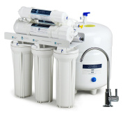 Olympia Water Systems Alkaline Remineralization Reverse Osmosis Water Filtration System with 80GPD Membrane - Increases water pH