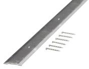 M-D 66019 Smooth Seam Binder, 90cm L x 2.5cm - 0.6cm W, Aluminium