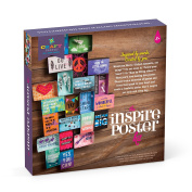 Craft-tastic Inspire Poster Kit - Craft Kit to Design and Build Your Own 3D Inspirational Poster