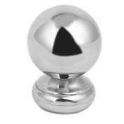 51mm Ball Top Cap 304 Stainless Steel Silver Tone for Stair Newel Fence Post