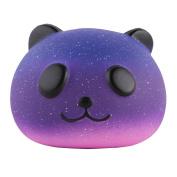 Anboor 8.4cm Squishies Panda Bread Jumbo Slow Rising Kawaii Scented Soft Galaxy Bun Animal Squishies Toys Colour Random