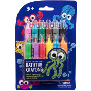 Bath Crayons Super Set - Set of 12 Draw in the Tub Colours with Bathtub Mesh Bag