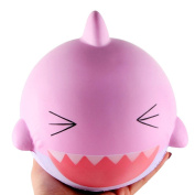 Honhui Slow Rising Toy, Jumbo Squishy Shark Cream Scented Decompression Squeeze Toys