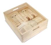Melissa & Doug Architectural Wooden Unit Block Set With Storage Crate