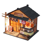Flever Dollhouse Miniature DIY House Kit Creative Room With Furniture for Romantic Valentine's Gift