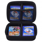 Comecase Hard Case for Pokemon Trading Cards. Fits up to 360 Cards. Includes 2 Removable Divider
