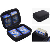 ANTS Hard Case for Pokemon Trading Cards. Fits up to 400 Cards. Includes 2 Removable Divider