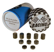 Pinewood Derby Weights - 100mls Tungsten Weights Variable Sizes Perfect For Fast Derby Cars