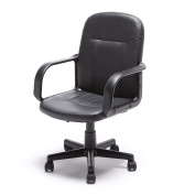 Zimtown Ergonomic PU Leather Midback Executive Computer Best Desk Task Office Chair New
