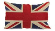 Brentwood Originals 8377 Union Jack Tapestry Toss Pillow, 33cm