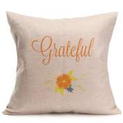 Clearance!!Thanksgiving Pillow Cases,ZYooh Linen Throw Pillow Cases Sofa Cushion Cover Home Party Decoration 46cm
