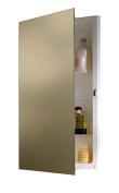Jensen B7733X Polished Edge Mirror Medicine Cabinet, 41cm x 70cm