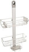 simplehuman Adjustable, Hanging Shower Caddy, Stainless Steel and Anodized Aluminium