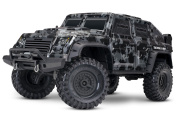 Traxxas 1/10 Scale Trx-4 Tactical Unit RC Crawler with 2.4GHz Tqi Radio