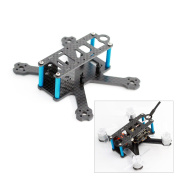 Usmile A-Max 98H 98mm Micro Brushless Carbon Fibre Quadcopter Frame Mini quad fpv racing quad similar with QAV-R QAV-X RX220 RX230 ZMR220 Martian X Frame support Runcam Micro Swift