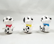 Replacement Dog Figurines for Haktoys Dalmatian Spotty Dog Chasing Game