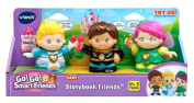 VTech Go! Go! Smart Friends Storybook Friends - Prince Hector, Princess Robin and Fairy Misty