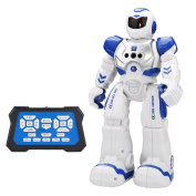 Remote Control Robot Kids Toys -CHOTOP RC Humanoid Robot Kit for Children Best Selling GIFT Products Armoured Popular Science,Programmable,Interactive,Smart Coolest,Dancing,Rechargeable,Educational Toy