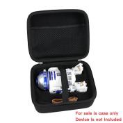 Hard EVA Travel Black Case for Star Wars R2-D2 App-Enabled Droid Sphero by Hermitshell