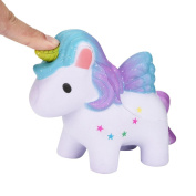 OVERMAL 2018 Lovely Rainbow Horse Dreamlike Unicorn Squishy Scented Squishy Slow Rising Squeeze Toys Collection